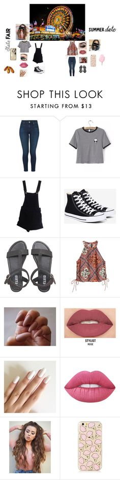 """""""statefair with Liam and Niall"""" by ily-harry-styles ❤ liked on Polyvore featuring J Brand, WithChic, ASOS, Converse, Yves Saint Laurent, Smashbox, Lime Crime, Skinnydip, statefair and summerdate"""