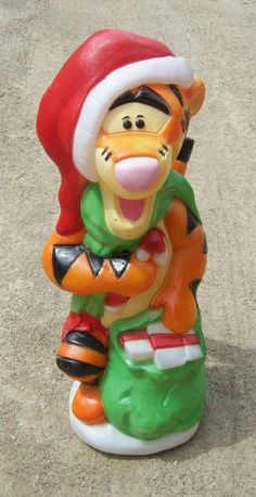 Vintage disney winnie the pooh #tigger blow mold #christmas light #decoration,  View more on the LINK: http://www.zeppy.io/product/gb/2/361688403862/