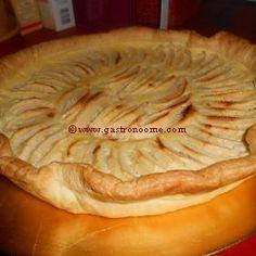Alsatian apple tart This pie is delicious and easy to do… I love it :) #recipe, #dessert, #tart, #pie, #apple,