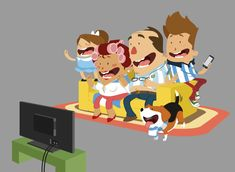 Character´s illustration - World Cup Brazil 2014 on Behance