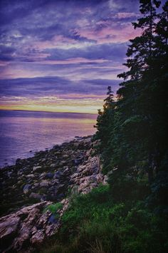 The Acadian Coast...Bass Harbor Maine.