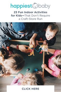 With very few materials, but lots of love and imagination, these indoor activities for kids create afternoons full of fun—and even some learning. Toddler Learning Activities, Indoor Activities For Kids, Infant Activities, Preschool Activities, Games For Kids, Diy For Kids, Kids Learning, Crafts For Kids, Easter Crafts