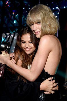Taylor & Selena at the iHeart radio music awards- 2016 (4/3/16)