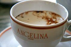 Paris Angelina's Chocolat L'africain (Hot Chocolate) Recipe Recipe from Angelina's
