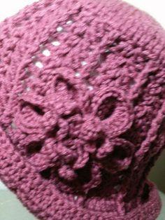 Crochet Flowers for Hats | Ladies Crochet Flower Hat