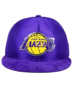 New Era Los Angeles Lakers On-Court Collection Draft 59FIFTY Fitted Cap - Purple 7 3/4