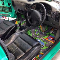 Funny pictures about I Think This Is The Perfect Car. Oh, and cool pics about I Think This Is The Perfect Car. Also, I Think This Is The Perfect Car photos. Hippie Auto, Hippie Car, Best Car Floor Mats, Design Autos, Vw Mk1, Volkswagen Caddy, Bmw Autos, Car Interior Decor, Car Interior Design