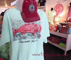 Inspired by Southern style! New arrivals from Southern Fried Cotton & Emerald Isle! Surprise dad with a new outfit!!! Come check out our collection of tees, hats, koozies and decals!  We are open today 10:30 - 5:30 in Downtown Thomasville!  www.thepalemoon.com  #southernfriedcotton #southerntees #preppy #outfitter #cobalt211 #thomasville #emeraldisles