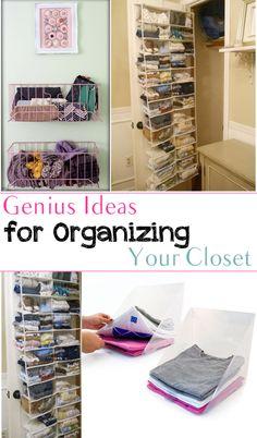 Genius Ideas for Organizing Your Closet