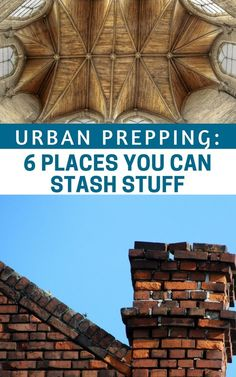 Urban Prepping: 6 Places You Didn't Know You Can Stash Stuff -- The urban sprawl will be filled with more resources than the wilderness. It will be filled with more threats and more people looking for those resources. That doesn't make it easy.