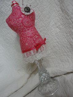 bright pink design fabrics and antique by nonnichicksplayhouse