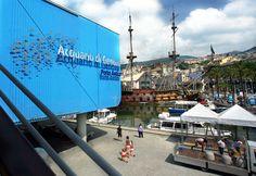 Aquarium of Genoa, Italy (© CuboImages srl/Alamy)