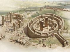 Göbekli Tepe ; Şanlıurfa/TURKEY.   The birth of religion. The world's first temple. http://science.nationalgeographic.com/science/archaeology/photos/gobekli-tepe/