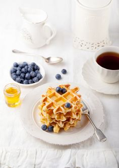 perfect bright blueberry brunch #photography