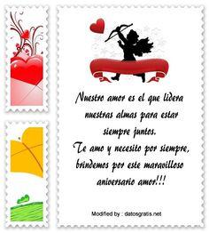 enviar bonitos mensajes de aniversario,descargar mensajes de aniversario: http://www.datosgratis.net/nuevos-mensajes-de-aniversario-para-tu-amor/
