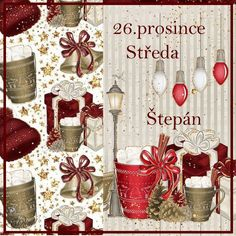 26.12. Collages, Advent Calendar, Holiday Decor, Home Decor, Montages, Homemade Home Decor, Collage, Decoration Home, Interior Decorating