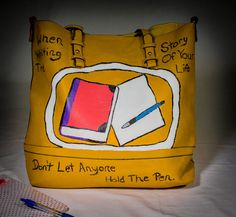 Inspiration Goes Where You Go by UniqueBeautyBags on Etsy