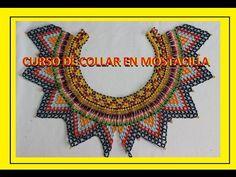 CURSO DE COLLAR EN MOSTACILLA//PARTE DOS - YouTube