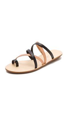 Loeffler Randall Sarie Two Tone Sandals