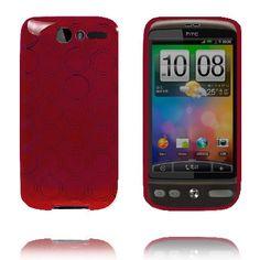 Amazona (Rød) HTC Desire G7 Deksel