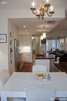 Full Floor Gut Renovation in Ditmas Park - love this look. Very comfy and cozy.