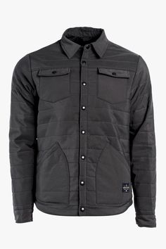 Mens Bison Snap Jacket   United By Blue - 1 Кожаные Изделия Для Мужчин,  Кожаная 45d9f111412