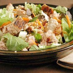 Asian Seared Tuna Salad | MyRecipes.com #myplate #protein #vegetable