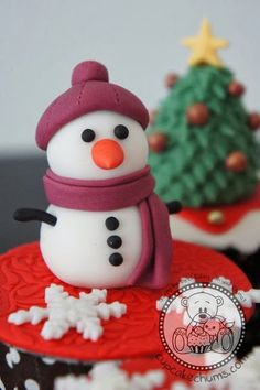 cupcake+de+natal.jpg (426×640)