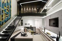 Small, Narrow Space Becomes a Contemporary Apartment: http://www.playmagazine.info/small-narrow-space-becomes-a-contemporary-apartment/