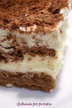 cake without baking Sweet Desserts, Cake Cookies, Food Art, Tiramisu, Deserts, Food And Drink, Yummy Food, Sweets, Baking