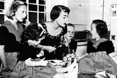 vintage xmas w/ Joan Crawford......No wire hangers!! She probably smacked this little girl for screaming after the picture. Look at Christina's face!
