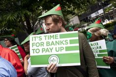 Robin Hood Tax: Take from the Rich and Give to the Poor?