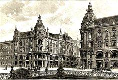Kaiser Wilhelm Straße German Architecture, Classic Architecture, Architecture Drawings, Old Pictures, Old Photos, Dresden, Kaiser Wilhelm, Old Buildings, Kirchen