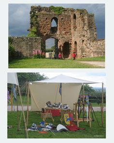 English Castle Ruins