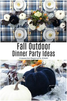Are you excited about fall! It's the best time to entertain outdoors. Check out these tips and ideas for hosting your next fall outdoor party! - Home Decor Outdoor Dinner Parties, Outdoor Entertaining, Garden Parties, Throw A Party, Autumn Garden, Fall Diy, Creative Home, Outdoor Dining, Beautiful Landscapes