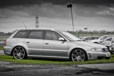 RS4 with B7 style wheels