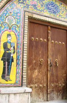 Middle East Iran East Tehran  Royal door-keeper by Leo71538