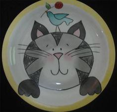 Prato de porcelana pintado à mão | Mariana Paixão | 174E15 - Elo7                                                                                                                                                     Mais