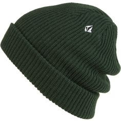 694074584d46 Volcom Full Stone Cuff Beanie - Men s ( 20) ❤ liked on Polyvore featuring  mens · Mens Beanie HatsBeaniesMen s ...