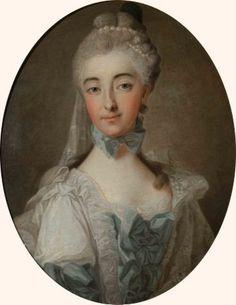 1767 Izabela z Czartoryskich Lubomirska by Aleksander Roślin