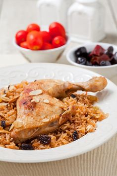 תבשיל אורז ועוף עיראקי - פלאו בג'יג'