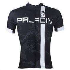 Paladin Cycling Jersey for Men Short Sleeve Remy Martin Pattern Black Bike Shirt  Size M  gt f4b607588