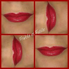 Rouge à lèvres armani et gloss bourjois.lipstick armani and gloss bourjois #armani #armanilipstick #red #rougealevre #rouge #bourjois #teamshine #effet3d  #rougedemocratic