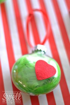 {Hooray for Holidays!} Grinchy Christmas Party (on a budget!) Details - One Swell Studio