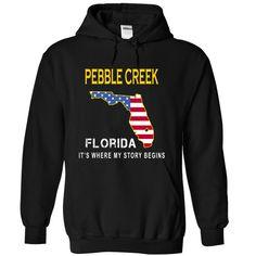 (Top Tshirt Sale) PEBBLE CREEK Its Where My Story Begins at Tshirt Family Hoodies, Funny Tee Shirts