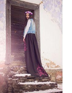 Vigan, Folk, Skirts, Fashion, Moda, Popular, Fashion Styles, Forks, Skirt