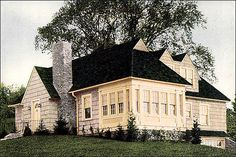 1928 Weatherbest Siding Ad - House Beautiful | This is a par… | Flickr