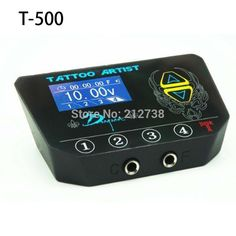 99.99$  Watch here - http://alizfp.worldwells.pw/go.php?t=32729666597 - New T-500 LED display Tattoo Power Supply Product  Free Shipping fuentes de alimentacion tattoo 99.99$
