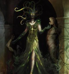 gorgon victim | VRASKA - PLANESWALKERS | MAGIC: THE GATHERING