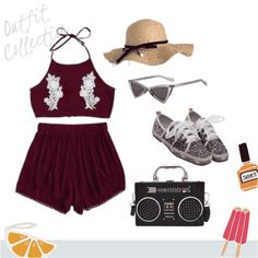 Cool vacancy outfit. #summertrip #shoeslover #spring #vacancy #beach #summer #travel  ##outfits #outfitideas #shopping